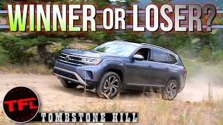 Can The 2021 Volkswagen Atlas PROVE Its Worthy Off-Road On Tombstone Hill? I Push It To Its Limits!