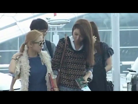 SNSD Incheon airport 'smtown live 3 Jakarta' Sep 21, 2012 GIRLS' GENERATION