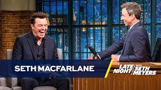 Seth Meyers Explains to Seth MacFarlane Why People Resent Him