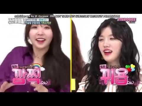 [ENG SUB] 170906 Weekly idol - Pledis special part 2 w/ Nu'est , Pristin , Raina and Han Dong geun
