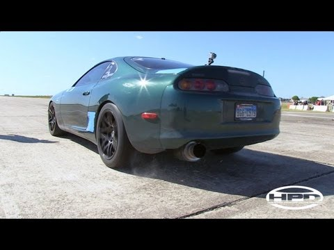 200mph Supra - Texas Mile - October 2011