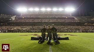 Texas A&M Midnight Yell! On the Field!! | TylersReelFishing