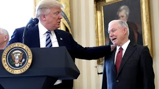 Is Attorney General Jeff Sessions' job in jeopardy?