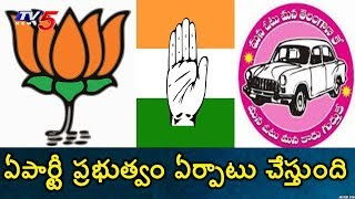 Survey Result: Which Party forms Govt in Telangana..