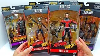 Wave 2 Avengers Infinity War Marvel Legends Complete Set! Build a Figure Cull Obsidian!