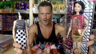 Barbie Fashionistas #71 Teddy Bear Flair Doll Original Jem Misfits Makeover Unboxing Review