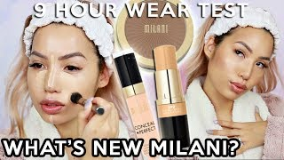 WHAT'S NEW? MILANI CONCEAL + PERFECT STICK FOUNDATION & LONGWEAR CONCEALER | WEAR TEST REVIEW