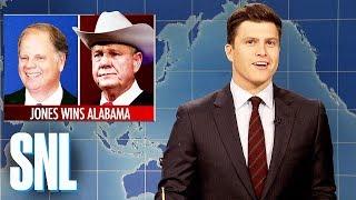 Weekend Update on Doug Jones Defeating Roy Moore - SNL
