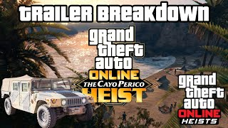 GTA 5 - Island Heist DLC - FULL Trailer Breakdown, New Cars, Release Date & More! (Cayo Perico Heist