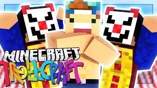 FREAKY CLOWN DIMENSION!   Minecraft: TrollCraft