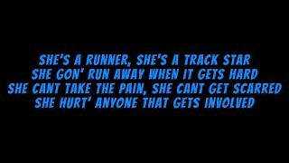 MOOSKI- TRACK STAR (LYRICS)