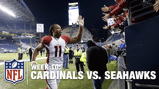 Cardinals Score 4 TDs & Safety to Win Big NFC West Matchup | Cardinals vs. Seahawks | NFL