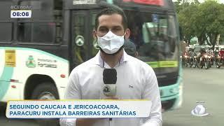 Seguindo Caucaia e Jericoacoara, Paracuru instala barreiras sanitárias