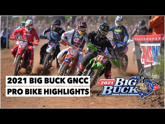 Résumé GNCC USA 2021 - RD1- Big Buck