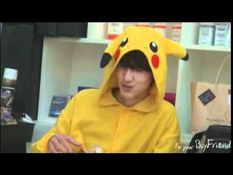 [Boyfriend Moment #30] Kwangmin eats toast + Pikwangchu Dance