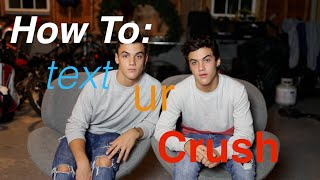 How To Text Your Crush