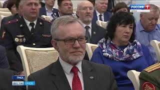 Александр Бурков вручил государственные награды
