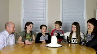 Family Flour Tower Who Will Win? / That YouTub3 Family | Family Channel