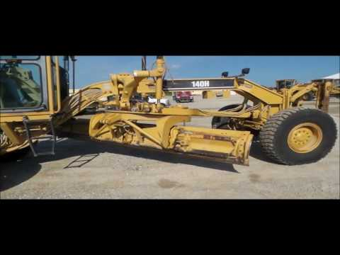 1999 Caterpillar 140H motor grader for sale | no-reserve Internet auction October 4, 2016