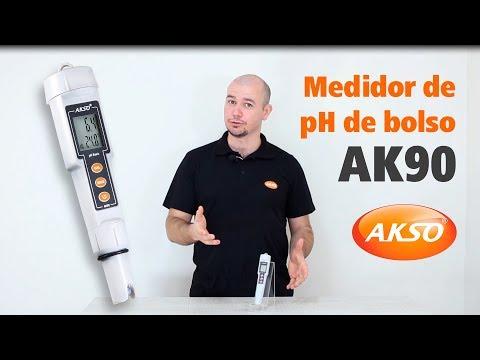 Medidor de pH de Bolso - AK90