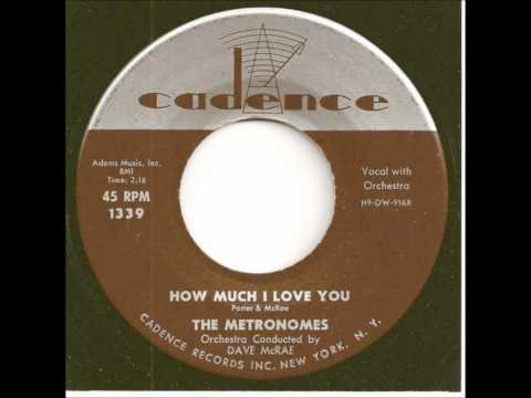 METRONOMES - DEAR DON / HOW MUCH I LOVE YOU - CADENCE 1339 - 1957