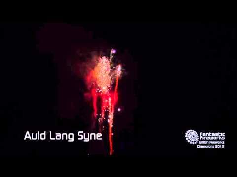 Auld Lang Syne - 120 shot firework