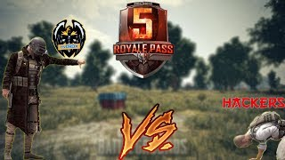 *HINDI* PUBG MOBILE PRO YOUTUBERS VS HACKERS |SEASON 5 ROYAL PASS GIVEAWAY IS ON NOW | LIKV RANK