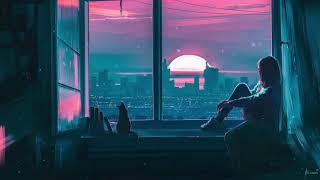 Late Night Melancholy - (EA7) 1 Hour Meditation | Study Sleep Relax  (Slowed Down + Reverb)