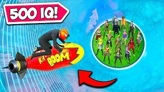 *500 IQ* WIN WHILE KNOCKED TRICK!! - Fortnite Funny Fails and WTF Moments! #868