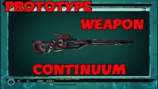 Prototype Weapon: Continuum - Defiance 2050