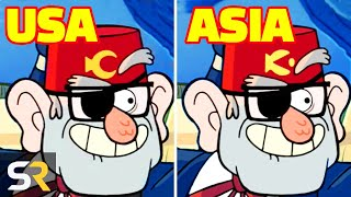 15 Gravity Falls Scenes That Were Changed In Other Countries