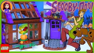 LEGO Scooby Doo Mystery Mansion Set Build Review Silly Play Part 1 - Kids Toys