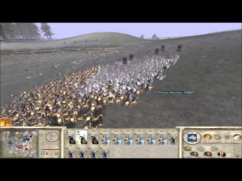 Rome Total War Online Battle #2039: eight Player Free-For-All (live-commentary)