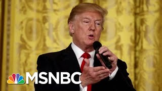 Where Is The Doubt From President Donald Trump On Disappearance? | Morning Joe | MSNBC
