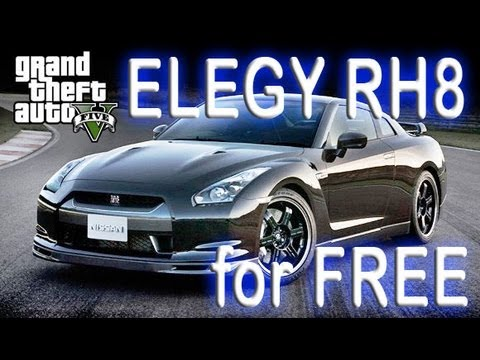 GTA Online - How To get FREE Super Sports car personal vehicle, ELEGY RH8. Grand Theft Auto V (5)