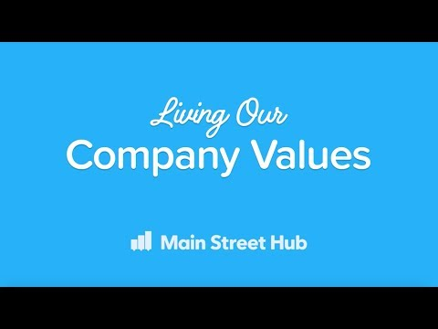 Living Our Company Values