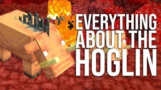 Everything About the HOGLIN in Minecraft!