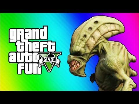 GTA 5 Online Funny Moments - Tow Truck Tornado Glitch & Aliens (GTA 5 Fun Jobs)