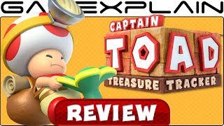 Captain Toad: Treasure Tracker - REVIEW (Nintendo Switch + Mario Odyssey Levels)