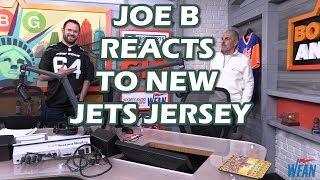 Joe Benigno reacts to new Jets jerseys with Boomer & Gio