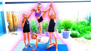EXTREME Yoga Challenge with The Norris Nuts
