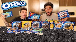 Oreo Taste Test CHALLENGE With FaZe Adapt