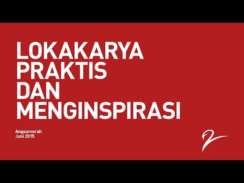 Lokakarya Angsamerah Juni 2015, Praktis dan Menginspirasi