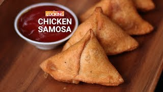 Chicken Samosa | Street Food | Snack | Mince Samosa | Ventuno Home Cooking