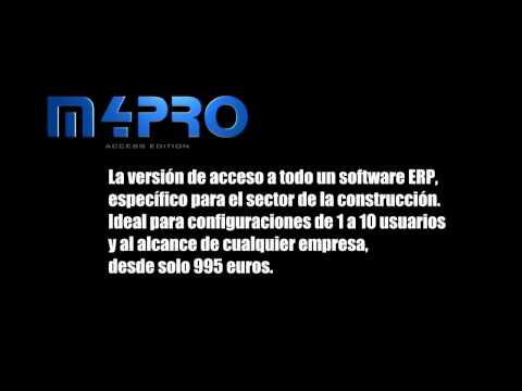 m4PRO ERP vs m4PRO Access Edition (Software gestión construcción, instaladora y afines)
