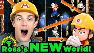 MatPat vs the OFFICIAL RubberRoss World! | Super Mario Maker 2