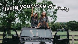 the basic VSCO girl transformation