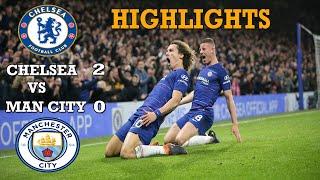 Chelsea  vs Manchester City (2-0) highlights.  All goal EPL 09/12/2018