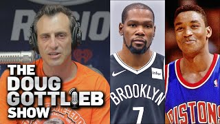 Doug Gottlieb - Kevin Durant Will Have A Similar Legacy To Isiah Thomas