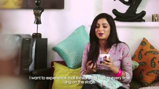Up Close and Personal with Shreya Ghoshal at Sony Project Resound